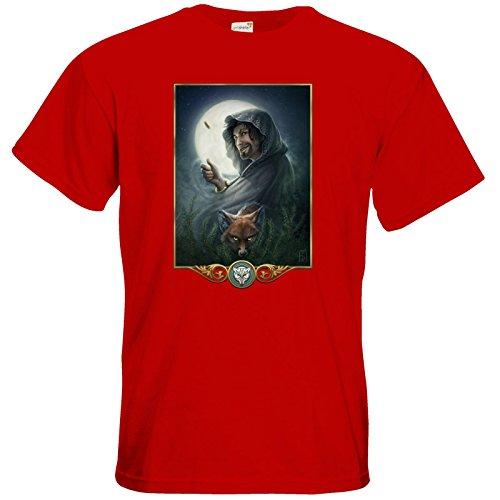 getshirts - Das Schwarze Auge - T-Shirt - Götter - Phex Red