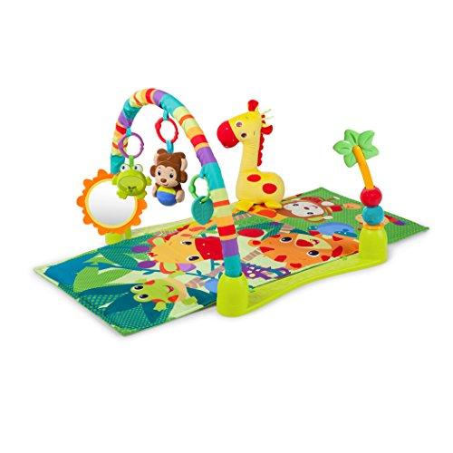 Bright Starts 52275 Spielmatte Spieldecke Krabbeldecke mit Spielbogen