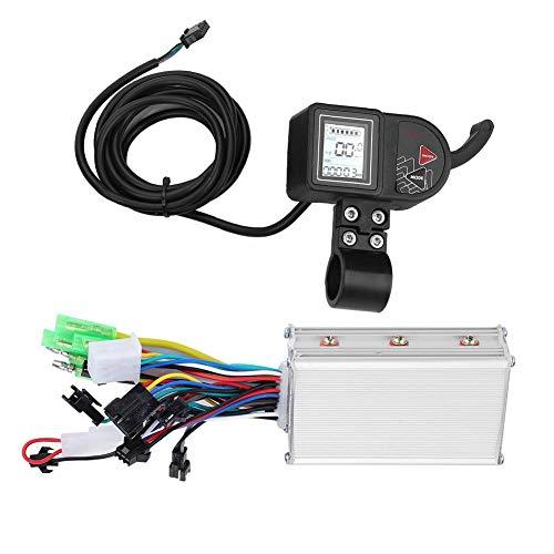 Alomejor Elektrisches Fahrrad Brushless Controller mit Wasserdichter LCD-Anzeigetafel 24V / 36V / 48V 250W / 350W Controller-Kit für Elektrorad-Roller(24V)