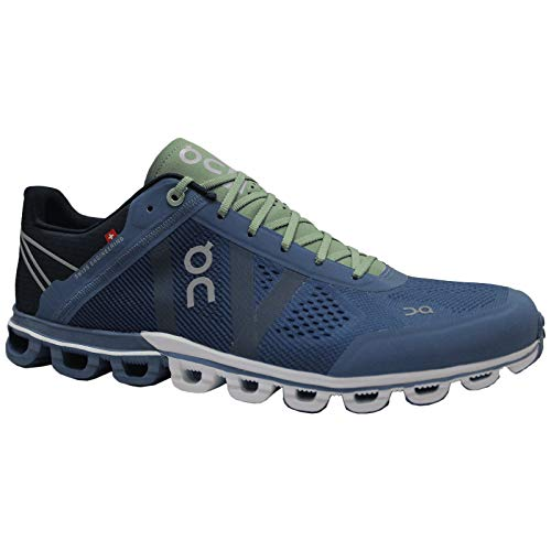 ON Herren Laufschuhe Cloudflow Lake/fern - 10,5/44.5