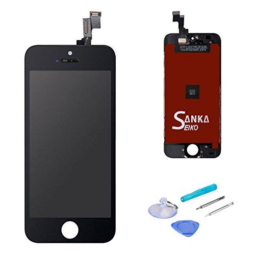 SANKA iPhone SE Display Lcd Bildschirm Touchscreen Ersatz für Schwarz (4.0'') 4 Lcd-bildschirm-ersatz