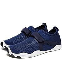 Zapatos de Agua Hombre Playa Zapatillas Mujer Unisex Secado Rápido Zapatos  Surf Natación Yoga 920fec0656d