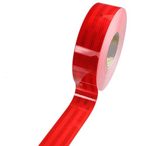 Preisvergleich Produktbild 3M Diamond Grade Konturmarkierung rot ( Retro - Reflektierende Folie 5, 5cm breit)