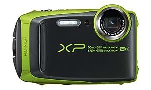 Fujifilm FinePix XP120 Fotocamera Digitale, Sensore CMOS da 16MP, Zoom Ottico 5x, Impermeabile 20 mt, Stabilizzatore Meccanico, Batteria al Litio, Verde