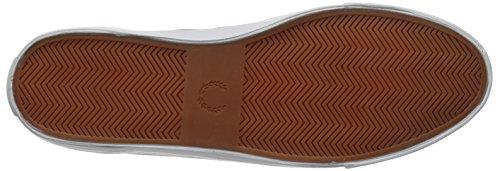 FRED PERRY Mann niedrige Turnschuhe B8265 C53 KENDRICK GESPITZTE CUFF BRSHD COT FALCON GREY Falcon Grey / Porcelain (Grau)