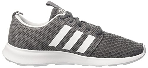 adidas Herren Cloudfoam Swift Racer Laufschuhe, Grau (Grey Four/Core Black/Footwear White 0), 46 EU - 6