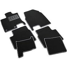 Il Tappetto Auto, SPRINT03303, Alfombrillas de moqueta para Coche, Color Negro, Antideslizantes