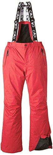 CMP , Pantaloni da sci, Rosso (Red Fluo), 164 cm, Rosso Fluo, 164