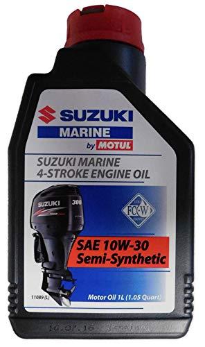 Suzuki Marine Öl 4-Takt 10W-30 Semi-Synthetic 1x1L für alle Suzuki Aussenbordmotoren DF Modelle -