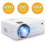 Proiettore APEMAN Portatile Videoproiettore,4500 Lumen LED Doppi Altoparlanti Incorporati 50000 Ore...