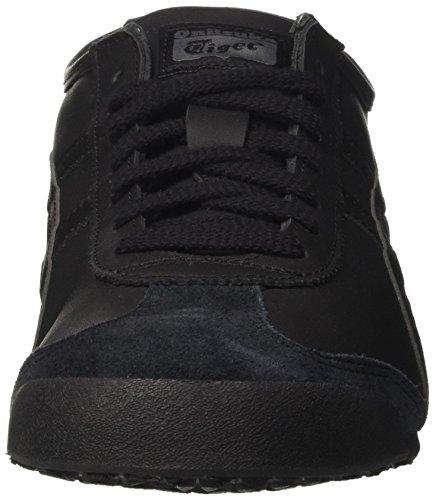 Asics Mexico 66, Baskets Basses Homme Noir (Black/black)