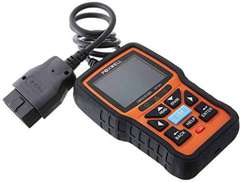 Foxwell OBD2 Diagnostic Auto Scanner Multimarque Lecteur de Code en Francais Otil de Diagnostics de Voiture pour Véhicules