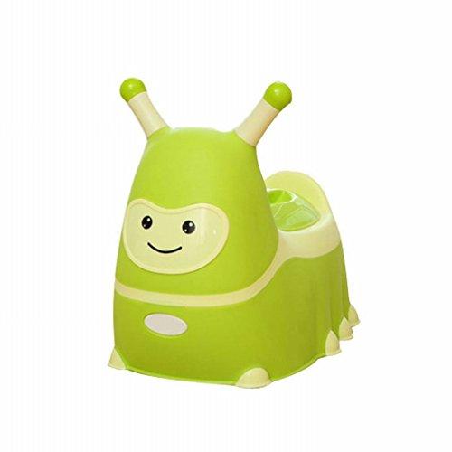 HM Erhöhen Sie Kinder 'S Toilette Männer und Frauen Baby Töpfchen Baby Wc Kinder' S Urinale Toilette,Grün