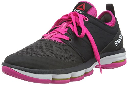 Reebok Women's Reebok Cloudride Dmx Coal, Rose, Pink and White Multisport Training Shoes – 4 UK/India (37 EU)(6.5 US) 41OXAmfRZBL