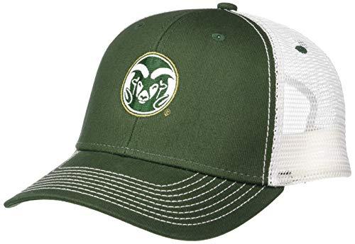 Ouray Sportswear NCAA Herren Cap Colorado State Rams Sideline Cap, Sideline Cap, Dark Hunter/White, Einstellbar -