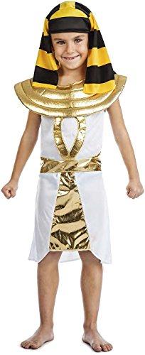 Imagen de disfraz egipcio talla 5 6 años tamaño infantil