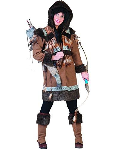 Kostüm Frau Eskimo - Generique - Eskimo-Kostüm für Damen