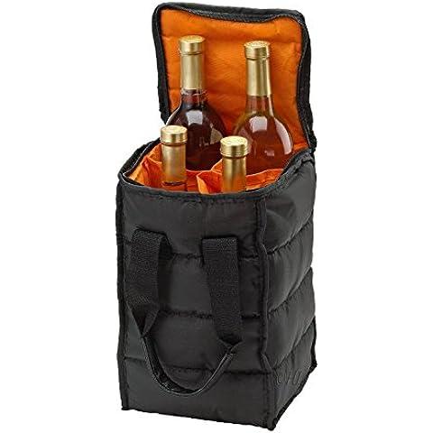Bolsa de papel para botella de vino, Tote Vino, de vino bolsa de viaje Picnic Hamper [Kitchen &