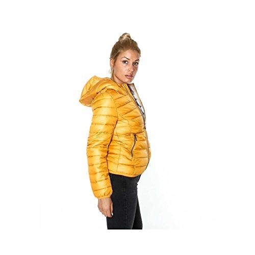 Giubbino Da Donna Modello 200 Grammi Con Cappuccio Arancione
