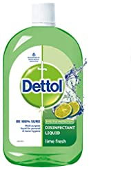 Dettol Disinfectant Cleaner for Home - Lime Fresh, 500 ml