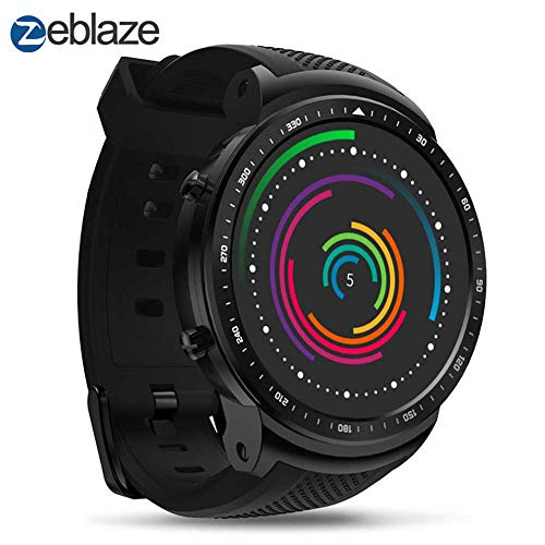 Ocamo Zeblaze THOR PRO 1,53 Zoll 1 + 16 GB 3G GPS WIFI Smartwatch Android 5.1 MTK6580 Quad Core 2,0 MP Kamera Herzfrequenzmesser Smart Watch 16 Gb Gps