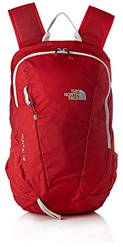 THE NORTH FACE Kuhtai 18, Unisex-Erwachsene Rucksack, Rot (Rage Red/High Rise G), 22x24x45 cm (W x H L)