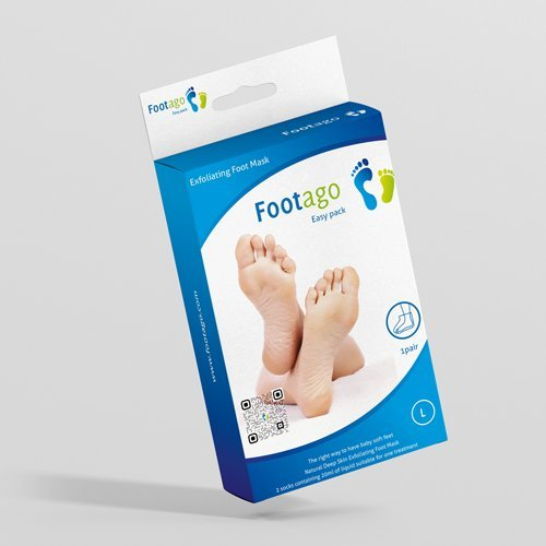 Price comparison product image FOOTAGO Exfoliating Foot Mask (1 pair of socks = 1 application = full treatment)