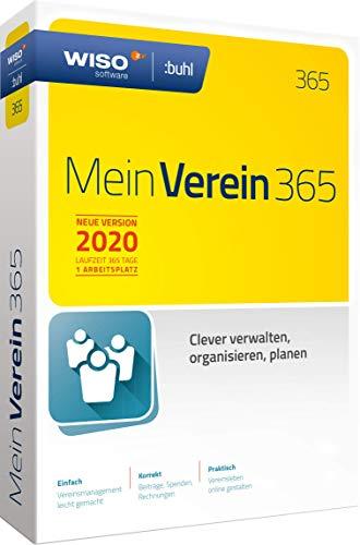 WISO Mein Verein 365 (aktuelle Version 2020) Clever verwalten, organisieren und planen|Standard |2020|PC|Disc in Standardverpackung