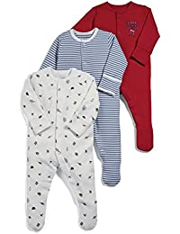 Mamas & Papas Pelele para Bebés (Pack de 3)