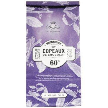 Dolfin - Trinkschokolade-Flocken 60% 200g Beutel