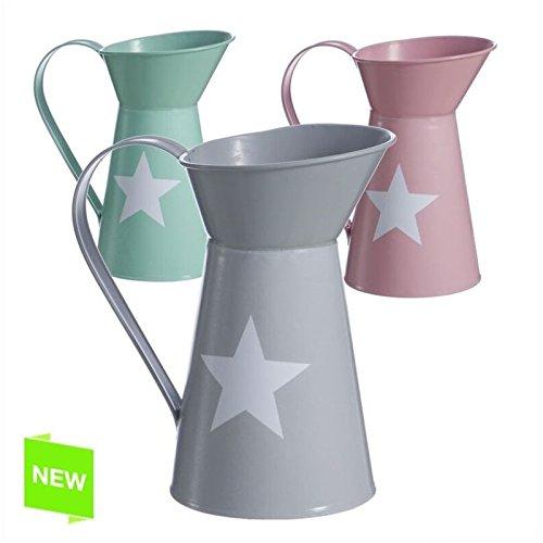 Jarra regadera decorativa diseño moderna colores (Rosa)