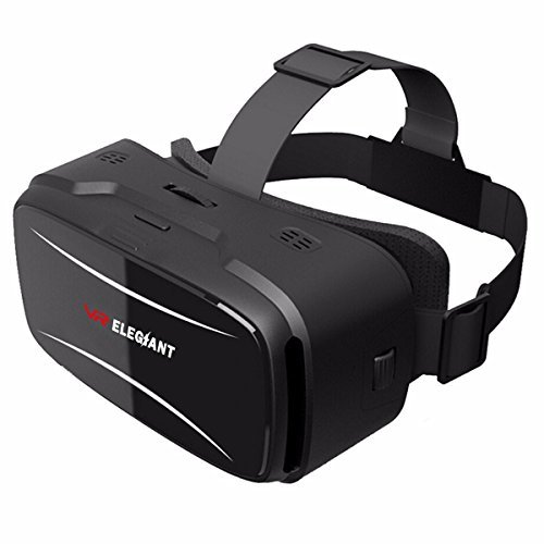 23649fd4baf7 31% ELEGIANT 3D VR Headset Virtual Reality Glasses for 3D Movies Video Games  Comfortable VR Goggles with