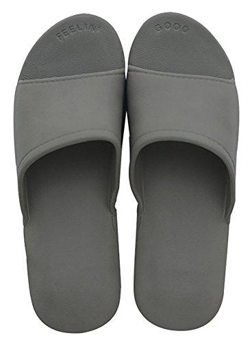 Slip On Zapatillas de ducha antideslizante Sandalias Casa Mule Think espumas Suela Zapatos de playa Baño Slide para adulto,
