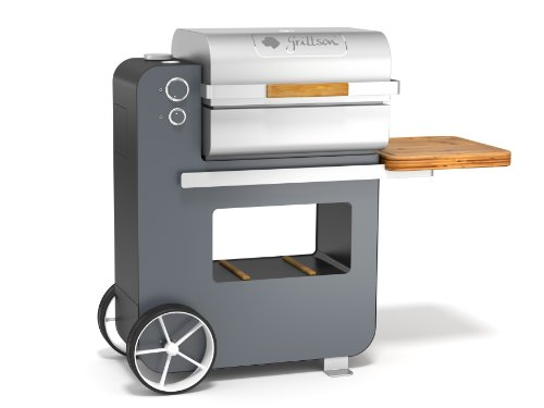 Grillson Holzpelletgrill schwarz/anthrazit