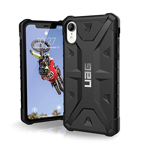 Urban Armor Gear Pathfinder para Apple iPhone Xr Funda con estándar Militar Estadounidense case [Compatible con inducción] - negro