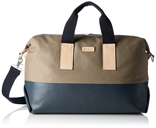BOSS Orange Herren Lightime_holdall Henkeltasche, Beige (Medium Beige), 46 x 30 x 23 cm