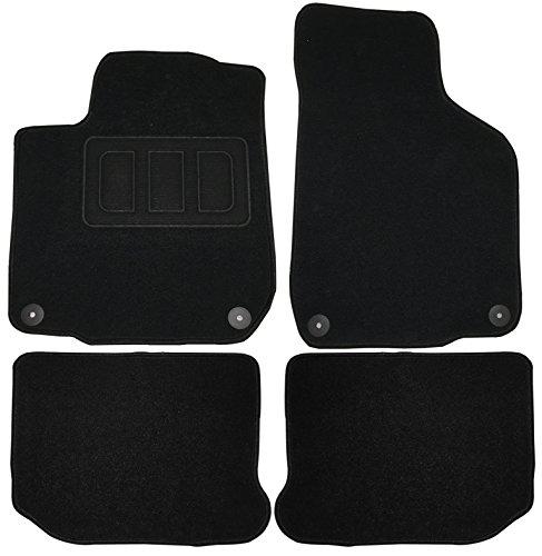 EUGAD AM7171p Autoteppich Auto Fußmatten Matten schwarz