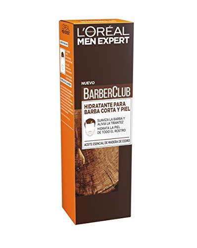L'Oréal Paris Men Expert Barber Club Crema Hidratante para Barba Corta y Piel - 50 ml