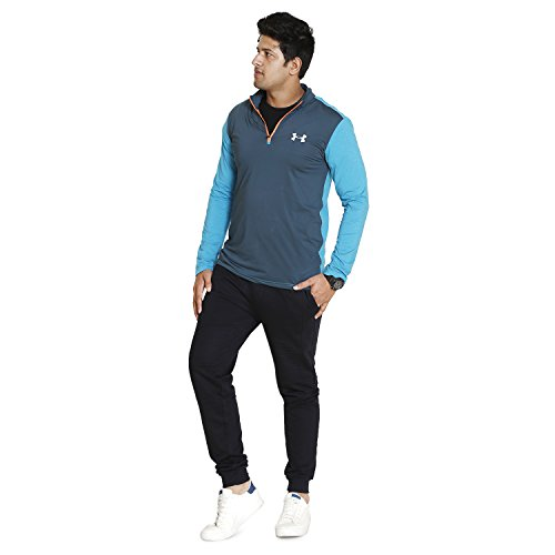INDIAN BLU Sportswear Mens Lower Cotton Navy Blue Color