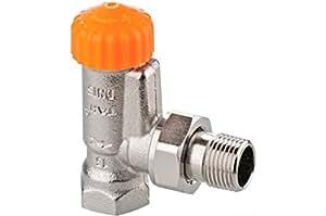 Heimeier A Exact d'angle de Corps de robinet thermostatique DN 10