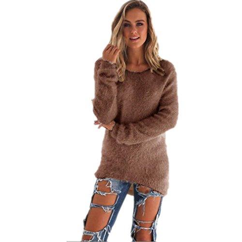 kolylong-womens-casual-warm-solid-long-sleeve-jumper-sweaters-blouse-m-coffee