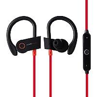 RQINW Auriculares Bluetooth, Auriculares en Funcionamiento, IPX7 Impermeable Auriculares, Auriculares Deportivos inalámbricos Gimnasio