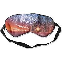 Sunrise Sunset Winter Trees Sleep Eyes Masks - Comfortable Sleeping Mask Eye Cover For Travelling Night Noon Nap... preisvergleich bei billige-tabletten.eu