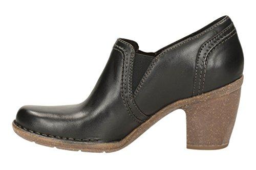 Clarks Casual stivali di Henry Torino donne in pelle nera Nero