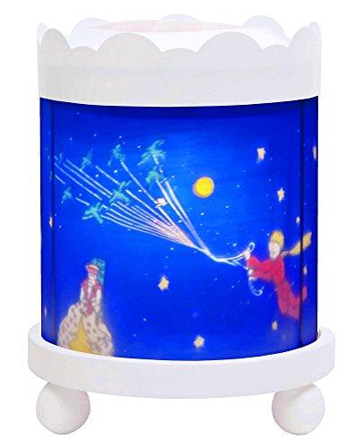 Trousselier Le Petit Prince Nachtlicht, Magische Laterne, Karussell, Projektor, Weiß