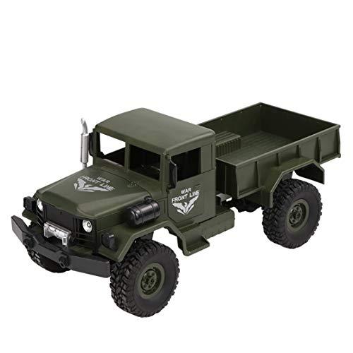 Happy event JJRC Q62 RC 1:16 2,4 G telecomando 4WD fuoristrada Military Truck Auto RTR, Verde