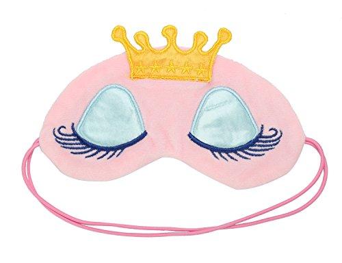 Très Chic Mailanda Schlafmaske Augenmaske mit Kaiserkrone Reisen Schlaf-Beihilfen