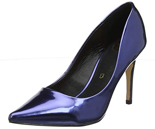 Buffalo Damen Fanny Pumps, Blau (Navy 001), 41 EU