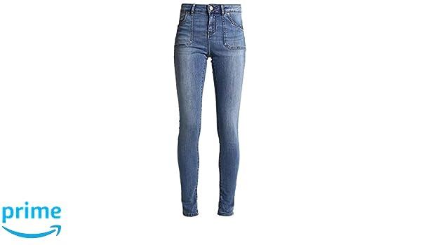Noisy may nmlucy damen jeans skinny fit jeans jeanshose medium blue