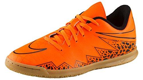 Nike Jungen JR Hypervenom Phade II IC Fußballschuhe Plateado/Naranja (Grn GLW/Mtllc Slvr-Hypr Orng-B-) 37 1/2 EU (Nike Hypervenom Grün Kinder)